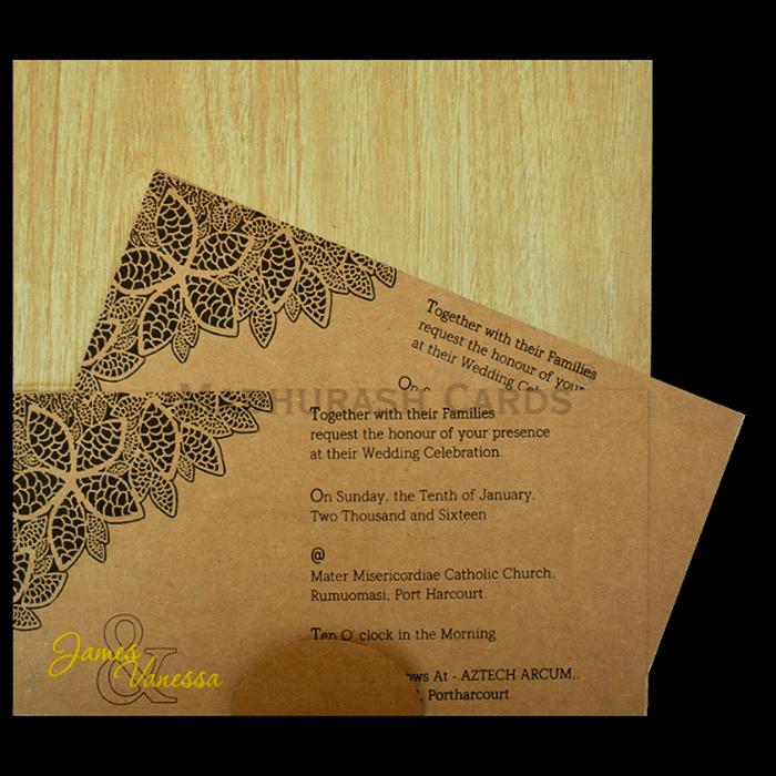 Kraft Wedding Invitations - KWC-9204 - 4