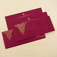 Designer Wedding Cards - DWC-4108