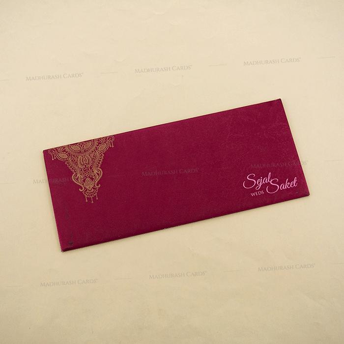 Designer Wedding Cards - DWC-4108 - 3