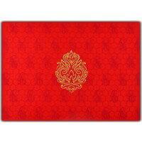 Fabric Wedding Cards - FWI-8833RG
