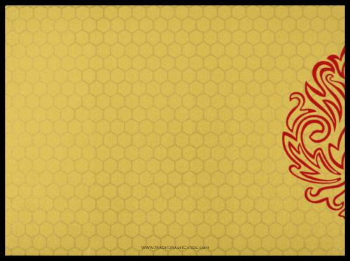 Fabric Wedding Cards - FWI-8833RG - 3