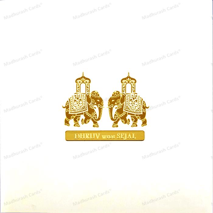 test Custom Wedding Cards - CZC-9425