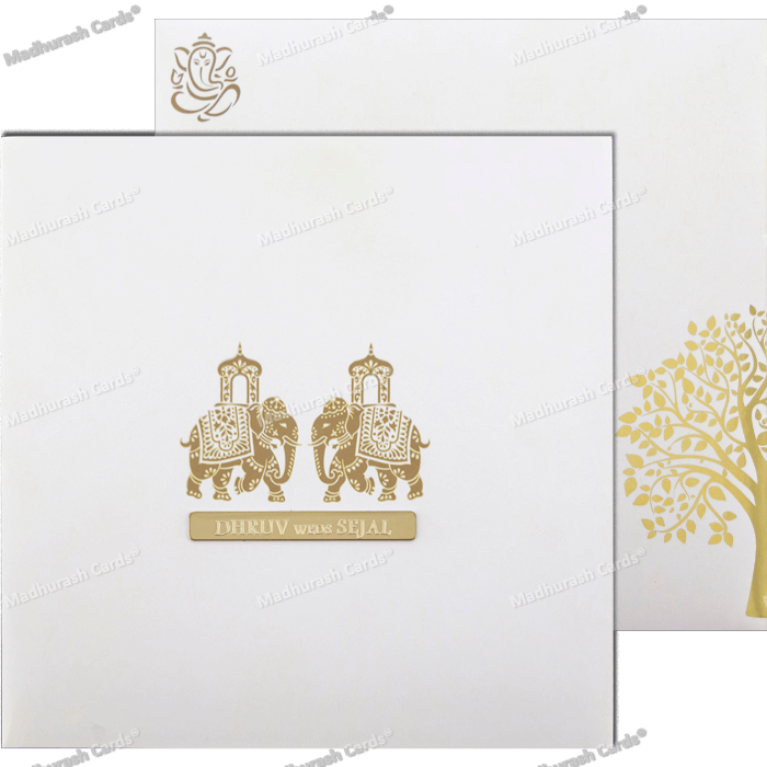 Custom Wedding Cards - CZC-9425 - 5
