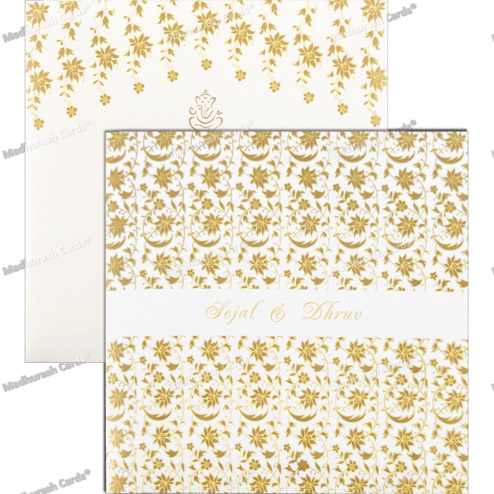 Custom Wedding Cards - CZC-9438 - 5