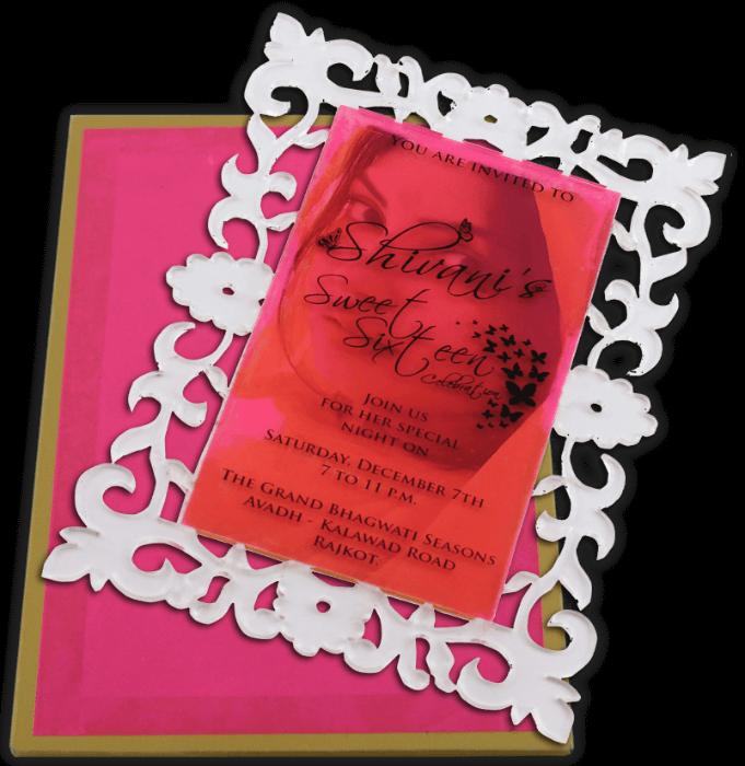 Personalized Single Invites - PSI-9717 - 4