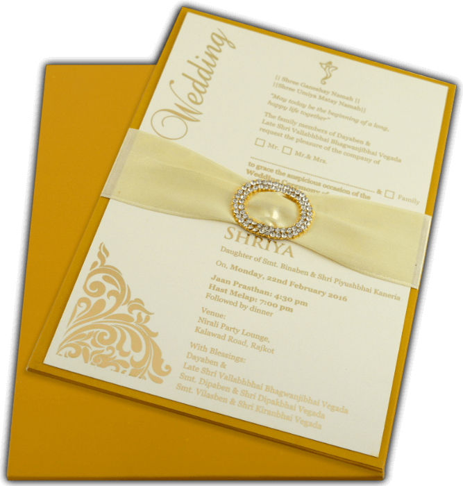 Personalized Single Invites - PSI-9744R - 4