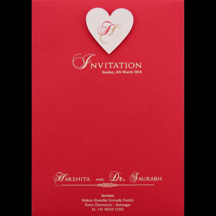 Personalized Single Invites - PSI-9543R - 3