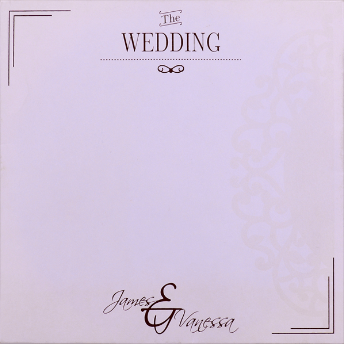 Personalized Single Invites - PSI-9725BR - 3