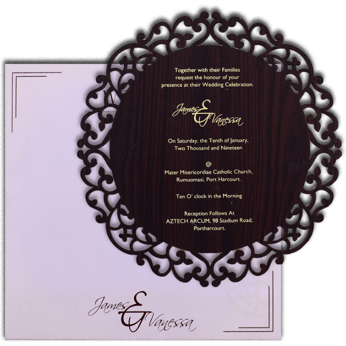 Personalized Single Invites - PSI-9725BR - 4