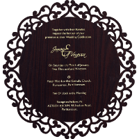 Engagement Invitations - EC-9725BR