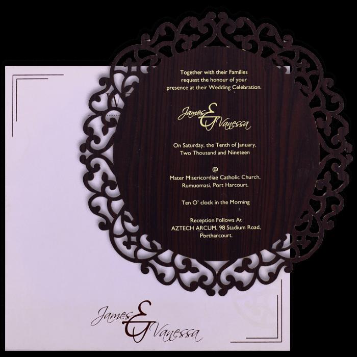 Birthday Invitation Cards - BPI-9725BR - 4