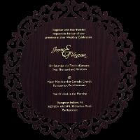 Inauguration Invitations - II-9725BR