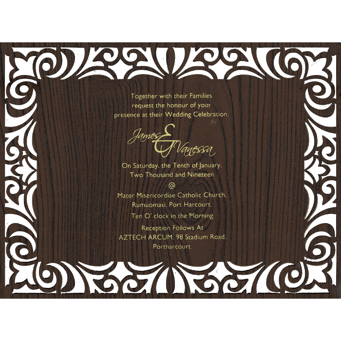 Personalized Single Invites - PSI-9729 - 3