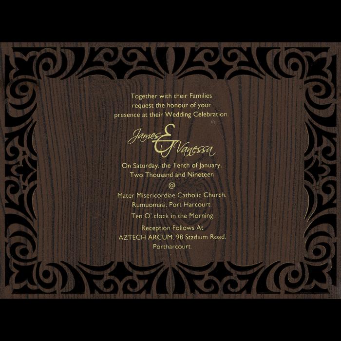 Inauguration Invitations - II-9729 - 3