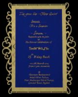 Personalized Single Invites - PSI-9736