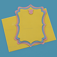 Personalized Single Invites - PSI-9764