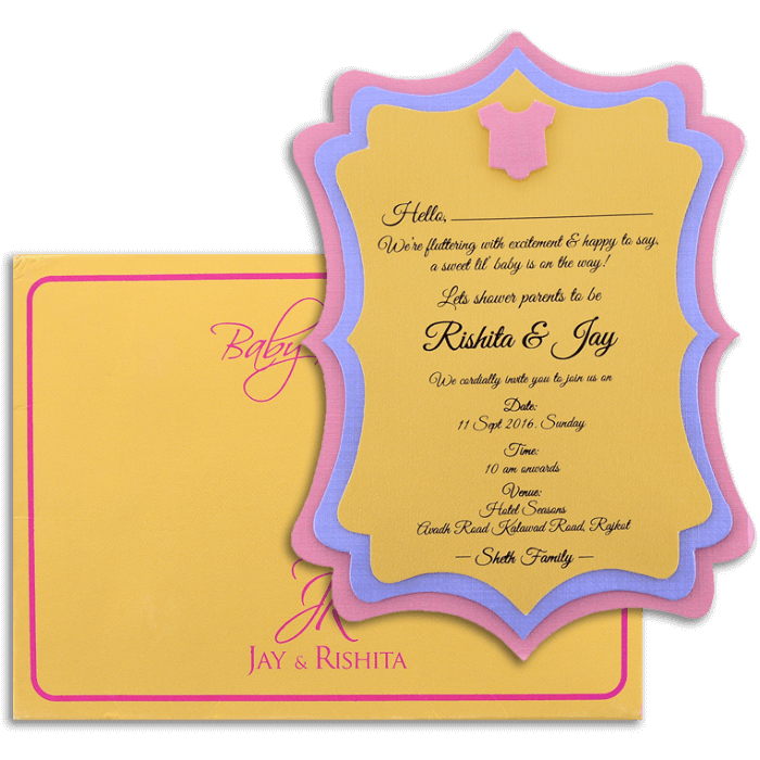 Personalized Single Invites - PSI-9764 - 4