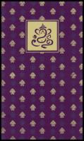 Fabric Wedding Cards - FWI-4327