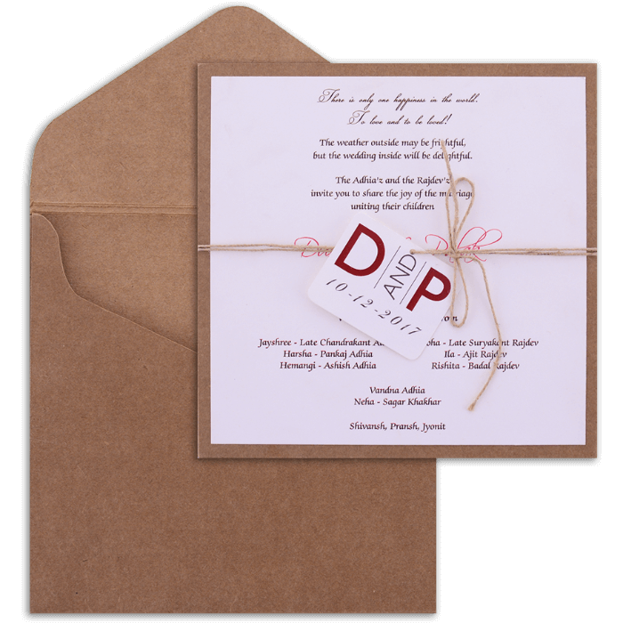 Personalized Single Invites - PSI-9494 - 4