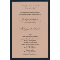 Personalized Single Invites - PSI-9551