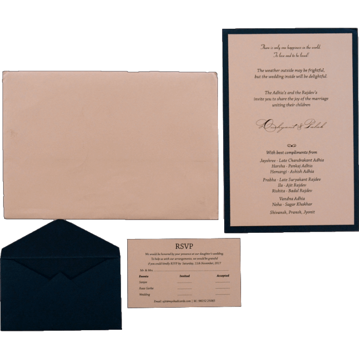 Personalized Single Invites - PSI-9551 - 3