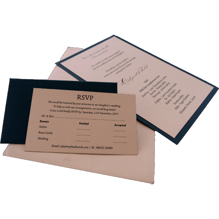 Personalized Single Invites - PSI-9551 - 5