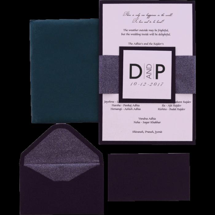 Personalized Single Invites - PSI-9521 - 4