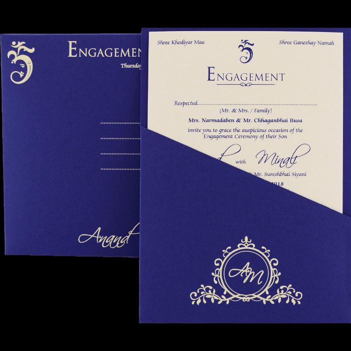 Personalized Single Invites - PSI-9525 - 3