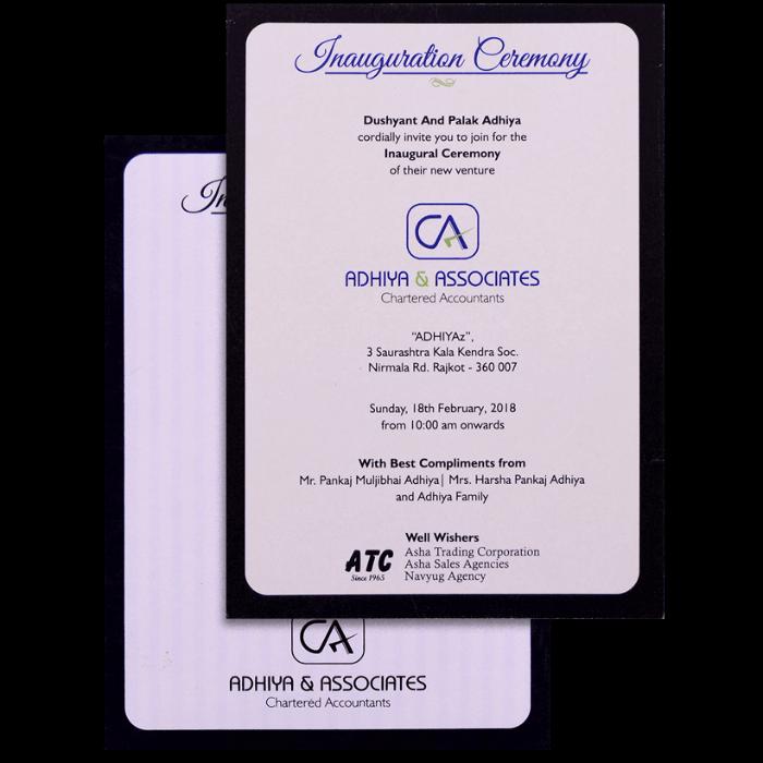 Personalized Single Invites - PSI-9799