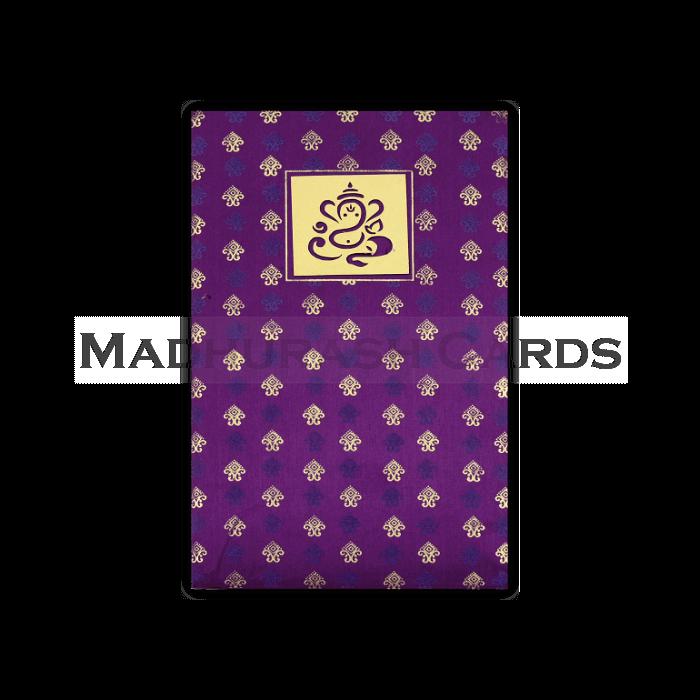 Hard Bound Wedding Cards - HBC-4327