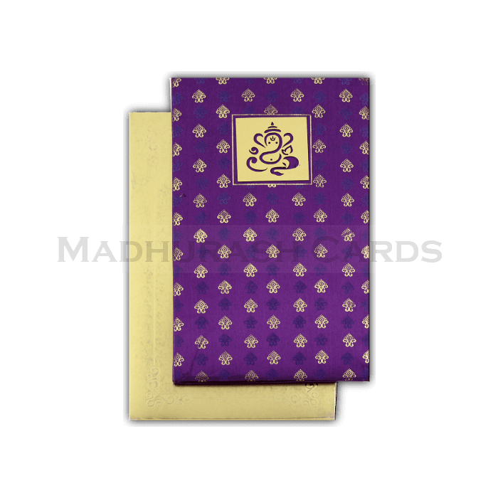Hard Bound Wedding Cards - HBC-4327 - 3