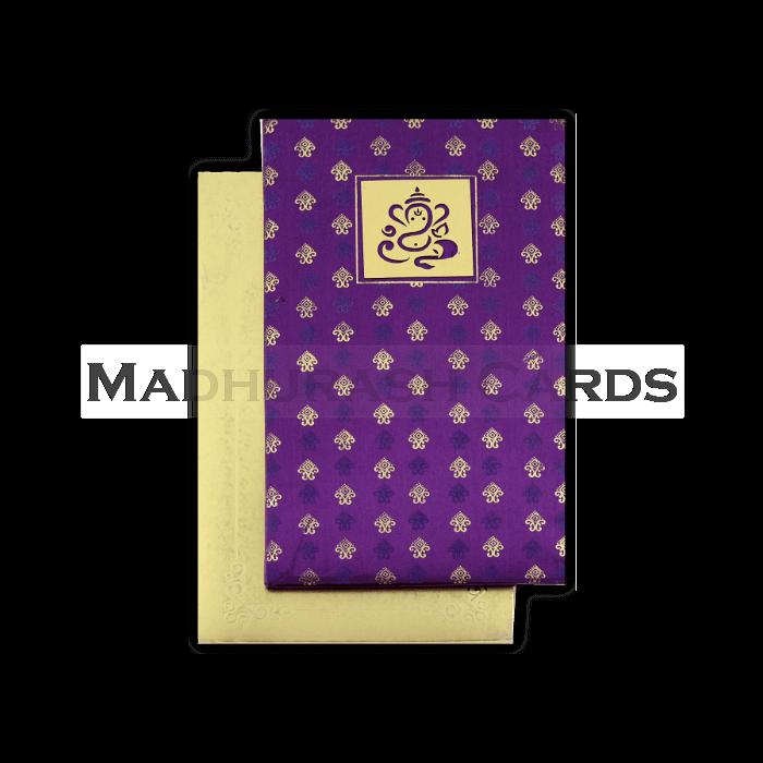 Hard Bound Wedding Cards - HBC-4327 - 3