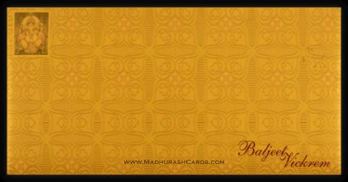 Hard Bound Wedding Cards - HBC-4359 - 3