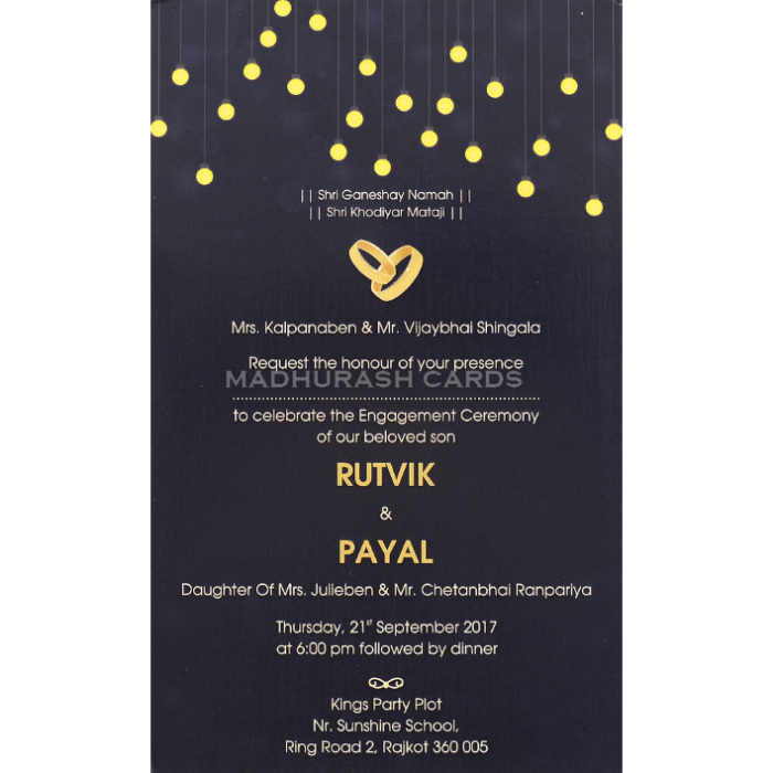 Personalized Single Invites - PSI-9591 - 5