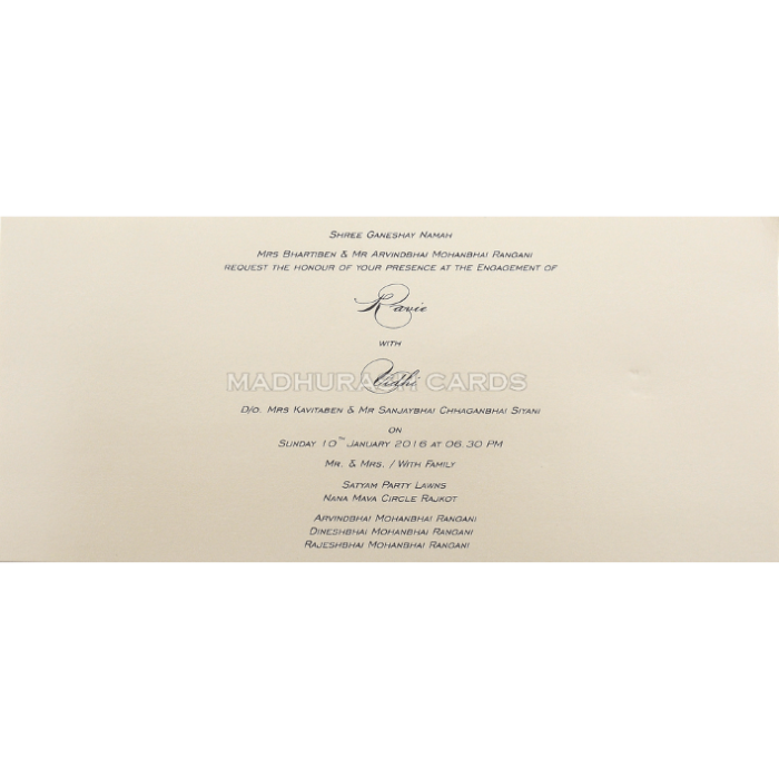 Personalized Single Invites - PSI-9467 - 5