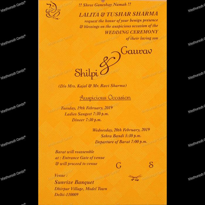 Thread Ceremony Invites - TCI-18613 - 4
