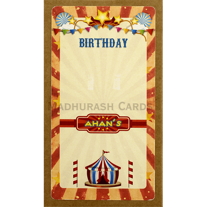 test Birthday Invitation Cards - BPI-8830