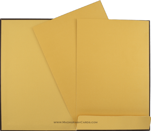 Custom Wedding Cards - CZC-9032BRGS - 4
