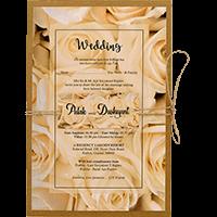 Kraft Wedding Invitations - KWC-8946