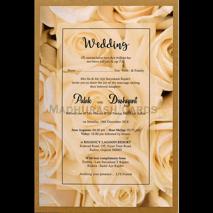 Kraft Wedding Invitations - KWC-8946 - 4