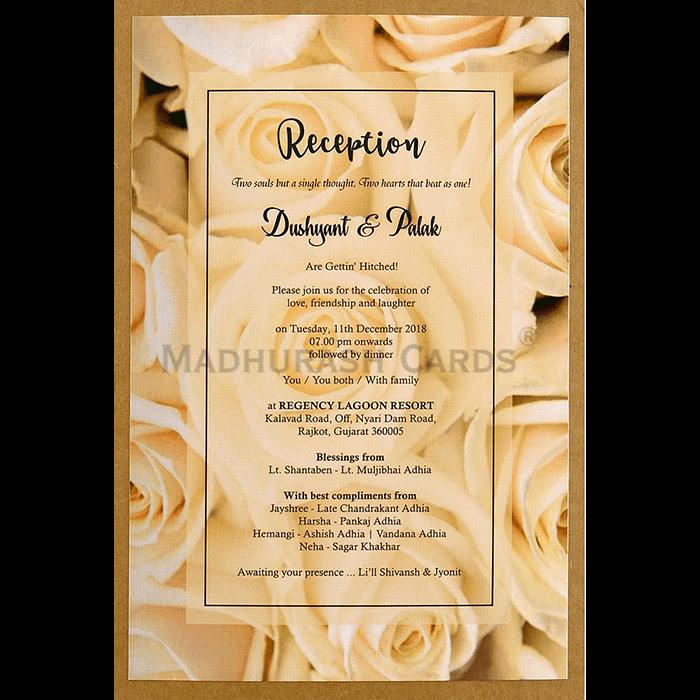 Kraft Wedding Invitations - KWC-8946 - 5