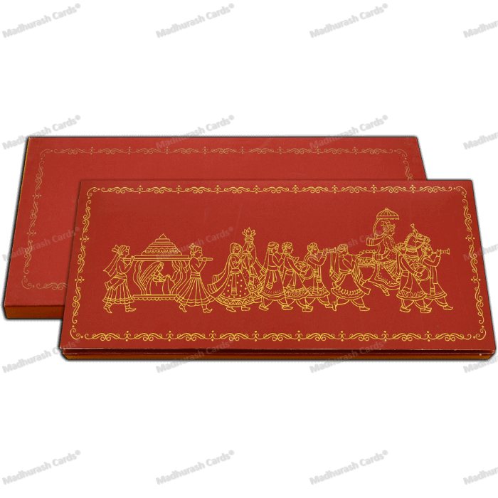 Custom Wedding Cards - CZC-5111Barat - 3