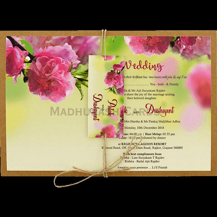 test Custom Wedding Cards - CZC-8944