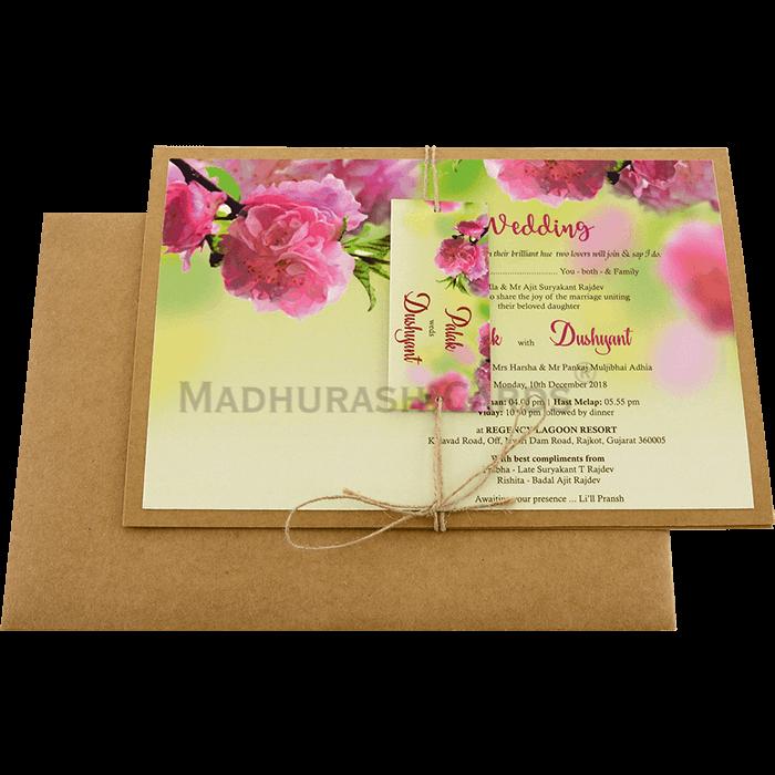 Custom Wedding Cards - CZC-8944 - 3