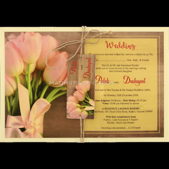 test Custom Wedding Cards - CZC-8952