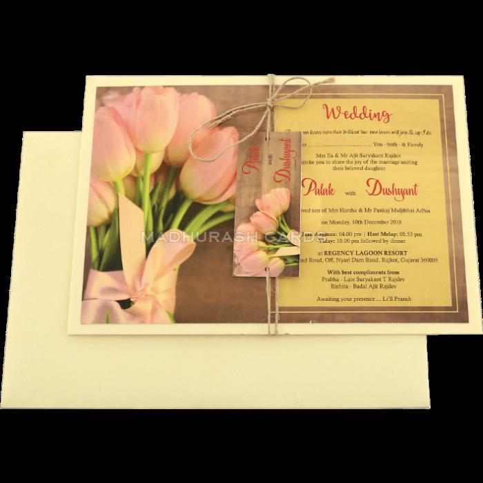 Custom Wedding Cards - CZC-8952 - 3