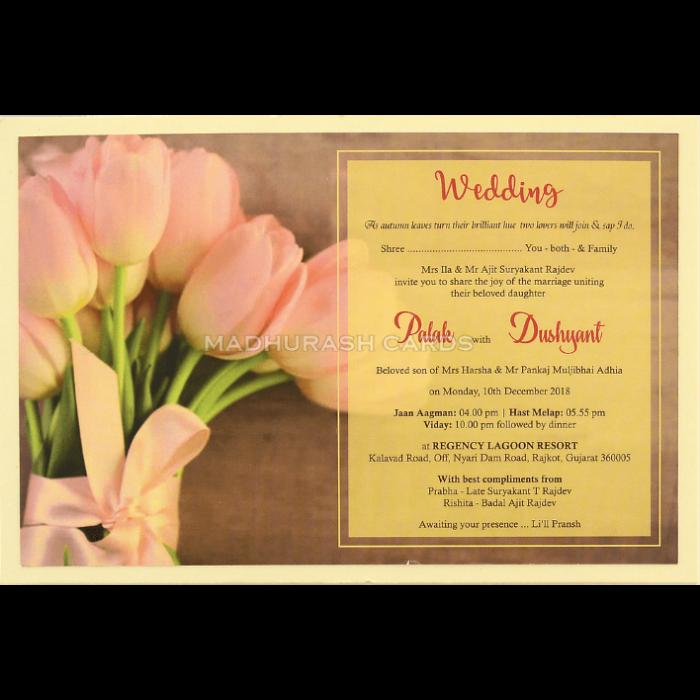 Custom Wedding Cards - CZC-8952 - 4