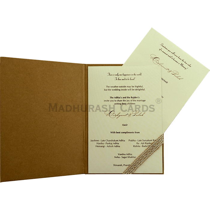Kraft Wedding Invitations - KWC-9433 - 4