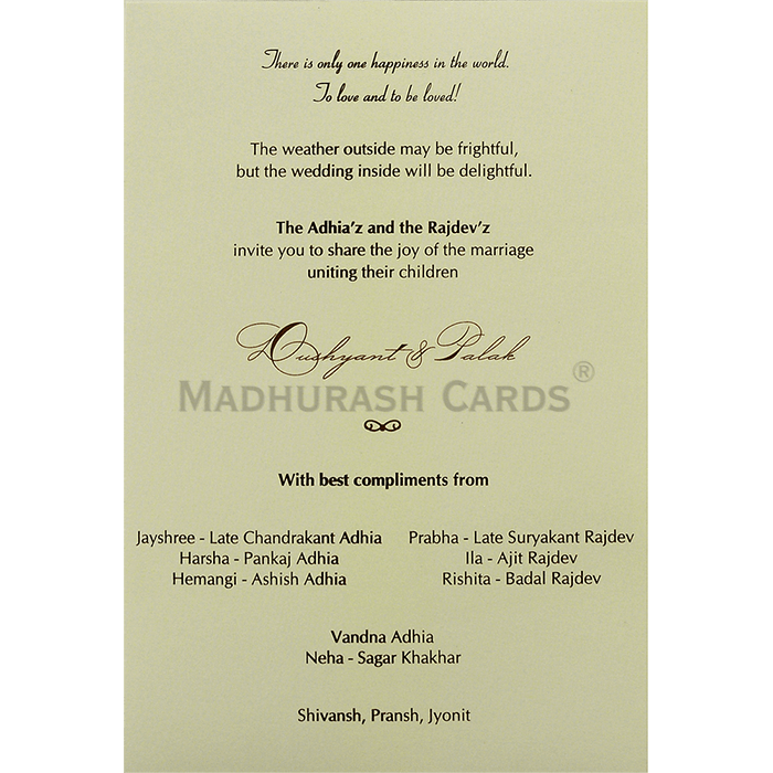 Kraft Wedding Invitations - KWC-9433 - 5