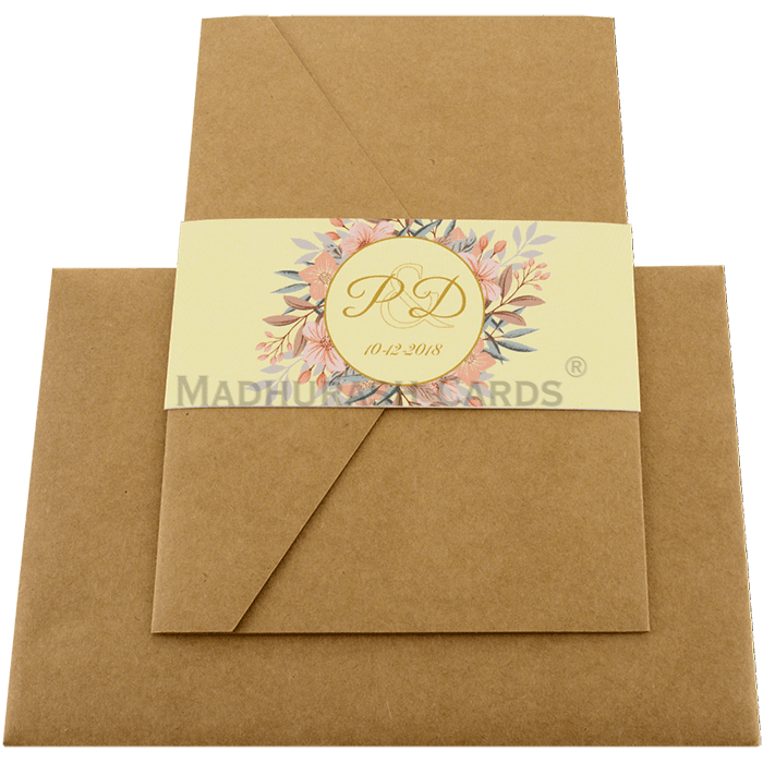 Kraft Wedding Invitations - KWC-9468 - 3